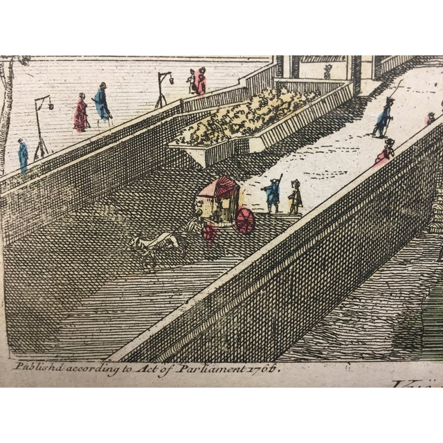French Le Pont Neuf Et Royal Engraving For Sale - Image 3 of 5