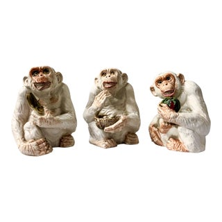 Set of 3 Italian Monkeys For Sale