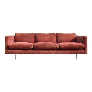Milo Baughman or Thayer Coggin Tuxedo Sofa