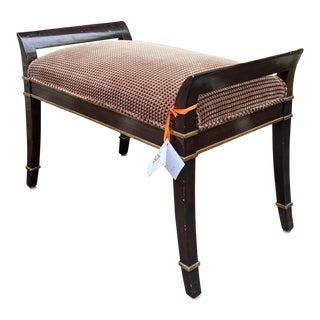 Sutton Place Designer Bench by Randy Esada Designs for Prospr For Sale