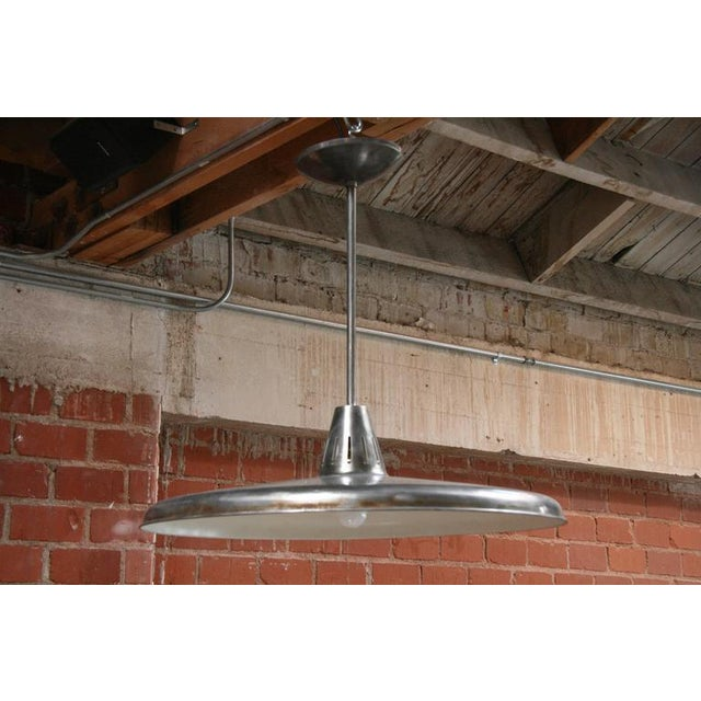 Sleek, stainless looking, sophisticated, sassy and super sized lights.