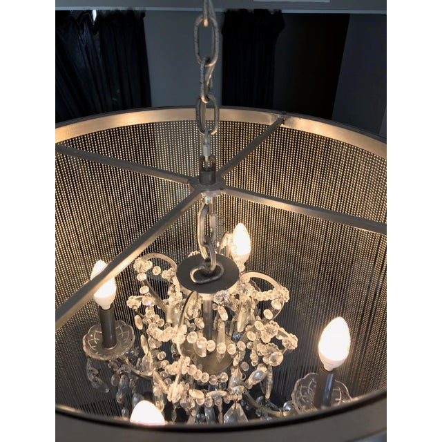Restoration Hardware Vaille Crystal Chandelier For Sale In Los Angeles - Image 6 of 8