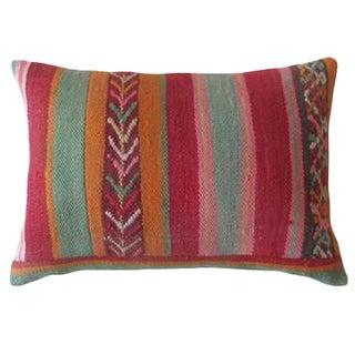 Small Moroccan Rug Pillow