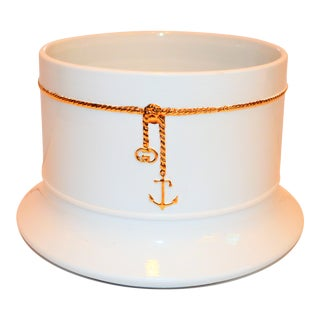 Vintage Gucci Nautical Ice Bucket For Sale
