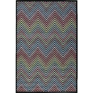 Chevron Rainbow Rug 5'3''x 7'7''