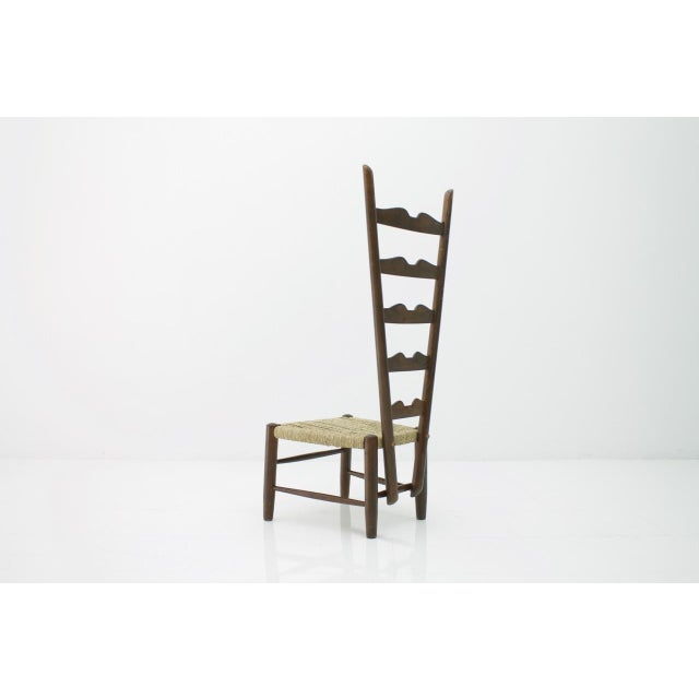 Gio Ponti Gio Ponti Fire Side Chair, Italy, 1939 For Sale - Image 4 of 11