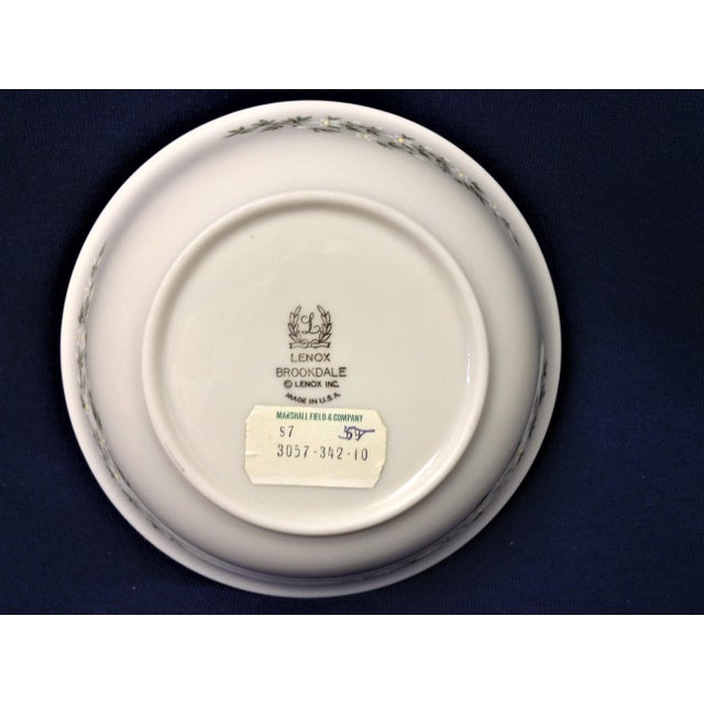 Traditional 1990s Traditional Lenox Brookdale Desert/Fruit Bowls - Set of 8 For Sale - Image 3 of 5