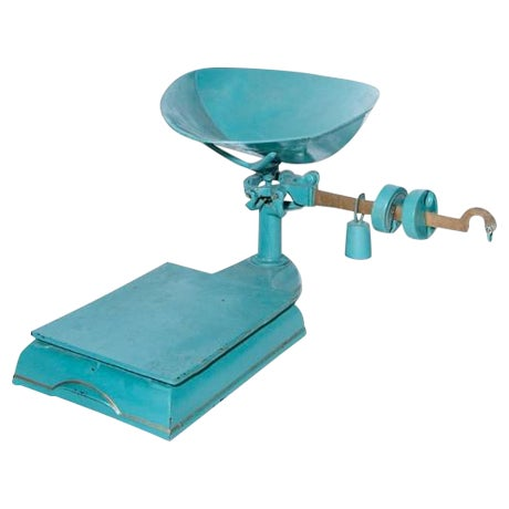 Blue and Gold Mercantile Scale - Image 1 of 4