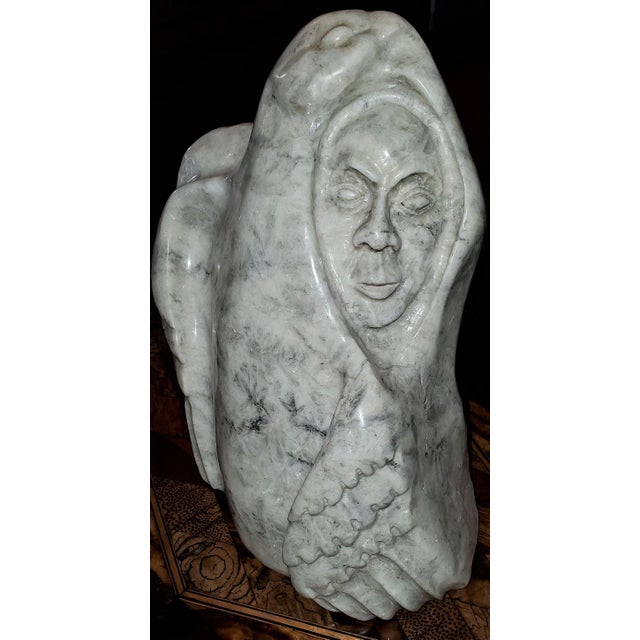 """Gilbert Hay's """"The Partridge Haunt"""" Inuit Art, 1991 For Sale In Dallas - Image 6 of 13"""