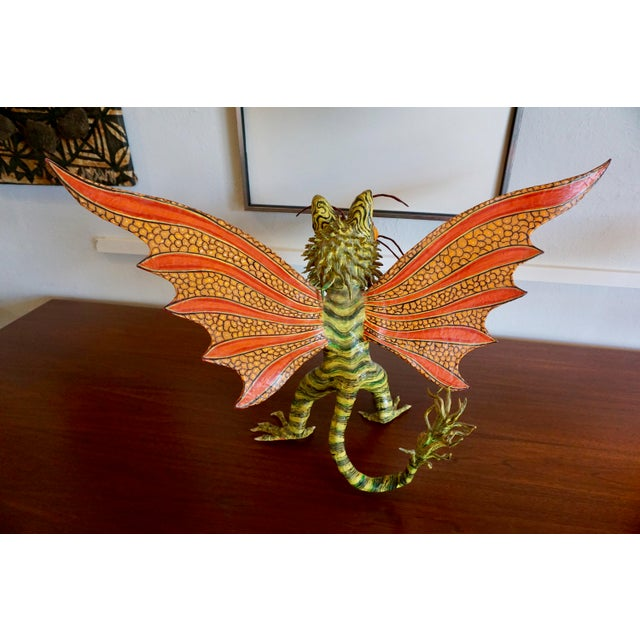"Fantastical Creature ""Alebrijes"" by Felipe Linares For Sale - Image 4 of 9"