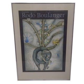 """""""Elephant"""" Graciela Rodo Boulanger 1979 Print For Sale"""