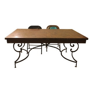 Antique Wooden Table For Sale