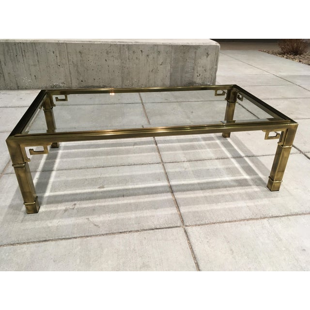 Mid-Century Greek Key Coffee Table by Mastercraft For Sale - Image 12 of 13
