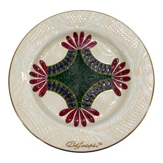 Whigs Defeat Quilt Pattern Decorative Plate For Sale