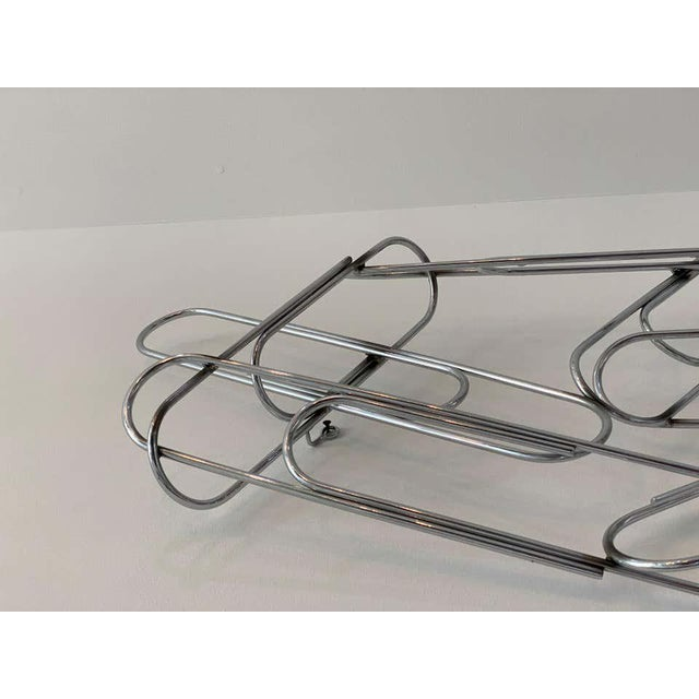 Metal Wall Sculpture of Paper Clips by Curtis Jere For Sale - Image 7 of 11