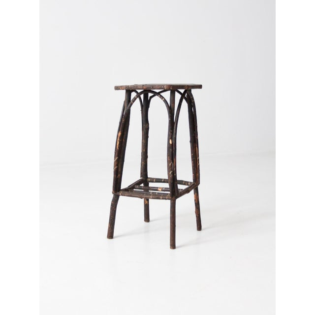Antique Adirondack Twig Table For Sale - Image 11 of 11