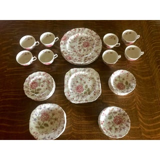 1940s Rose Chintz China by Johnson Brothers - Set of 49 Preview