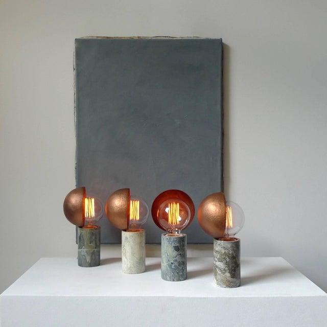 Modern Marble Table Lamps, Sander Bottinga For Sale - Image 3 of 9