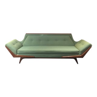 1960s Mid-Century Modern Adrian Pearsall Gondola Sofa For Sale