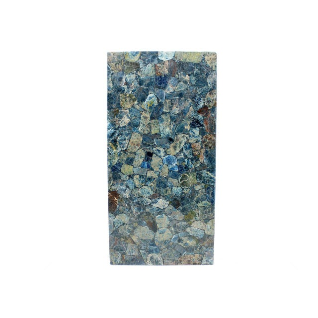 Rare Sergio Rodrigues Coffee Table With Apatit Stone Mosaic Top, Brazil 1964 For Sale - Image 6 of 10