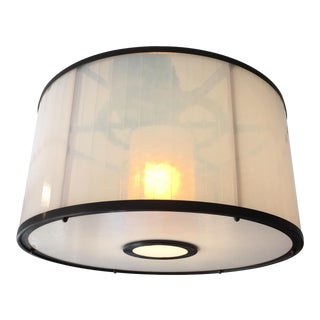 Michael McEwen B Ring Ceiling Fixture For Sale