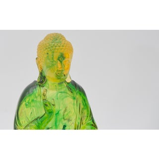 Green Lucite Buddha Figure Preview