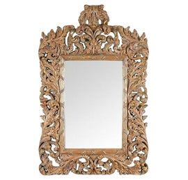 Image of Gold Mantel and Fireplace Mirrors