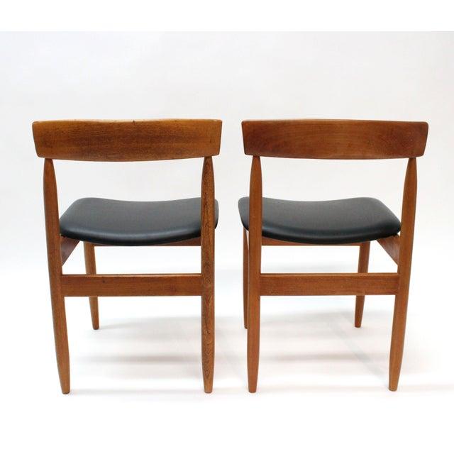 1977 Mid-Century Danish Style Teak Chairs - A Pair - Image 5 of 6
