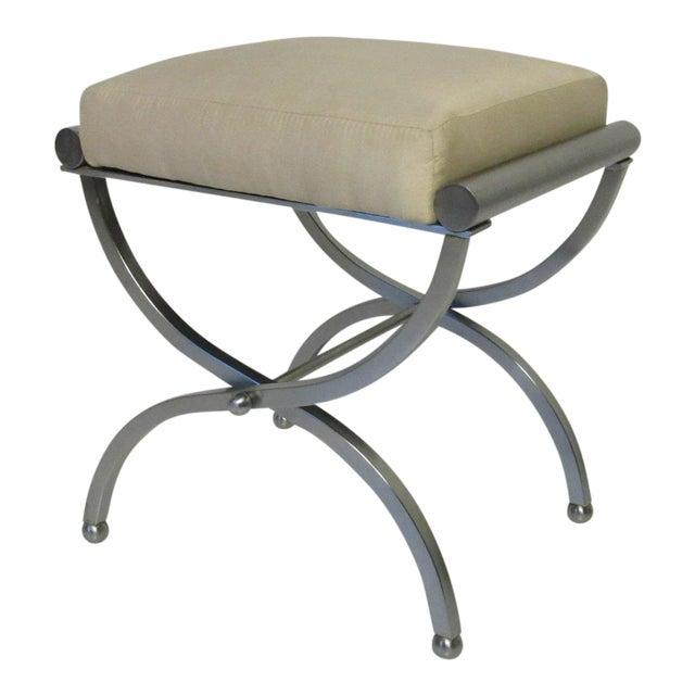 Sensational Machine Age Art Deco Vanity Stool Evergreenethics Interior Chair Design Evergreenethicsorg