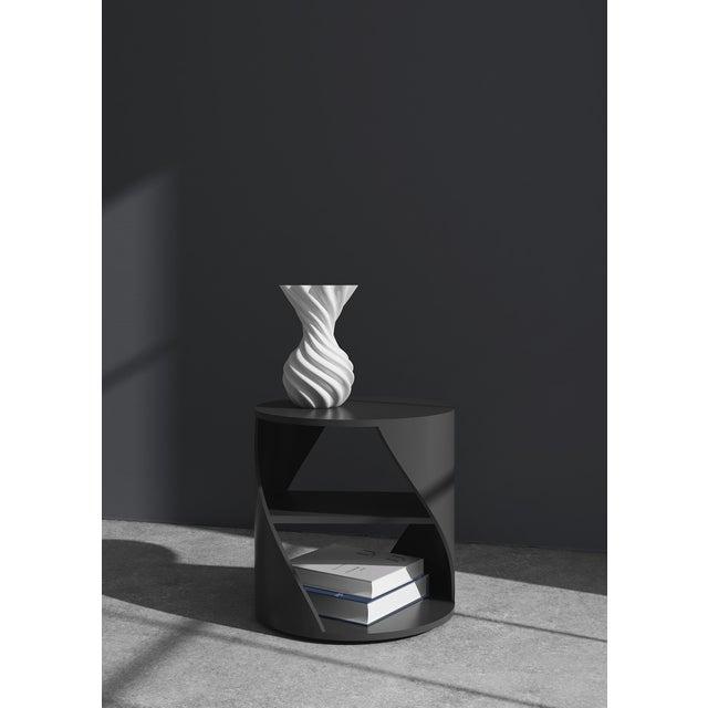 Wood Mydna Teak Decorative Side Table by Joel Escalona For Sale - Image 7 of 10