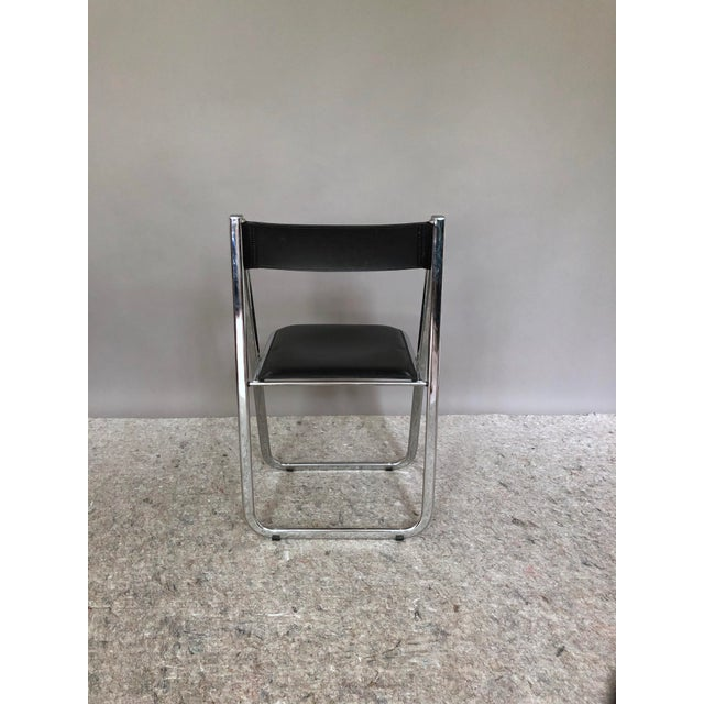 """1970s Arrben """"Tamara"""" Folding Chairs - Set of 6 For Sale - Image 5 of 11"""