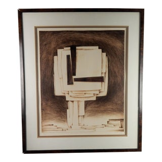 Homage to Architecture, 1979 Etching For Sale