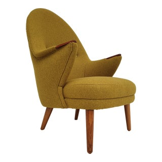 1960s Danish Teakwood Armchair For Sale