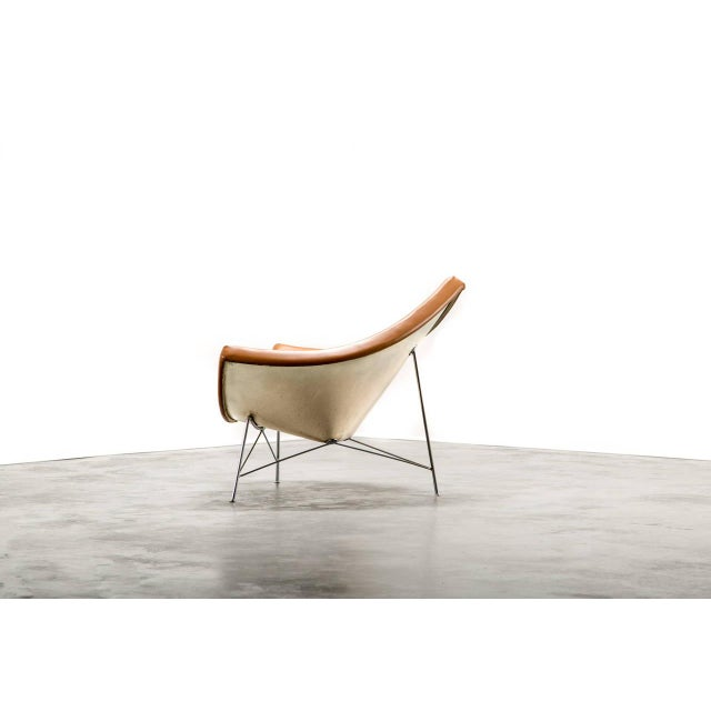 Herman Miller George Nelson for Herman Miller Coconut Chair and Ottoman, Circa 1950's For Sale - Image 4 of 6