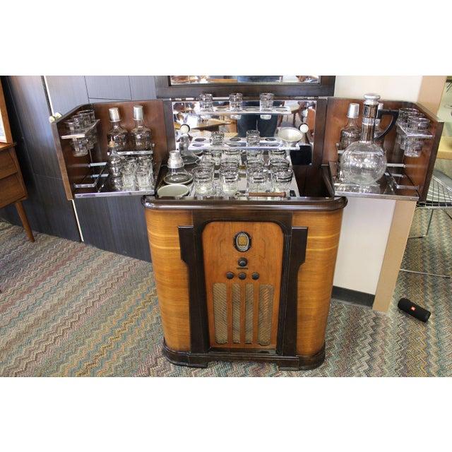 Philco Bar & Radio Cabinet For Sale In Phoenix - Image 6 of 8
