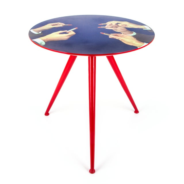Seletti Seletti, Lipsticks Side Table, Toiletpaper, 2017 For Sale - Image 4 of 4