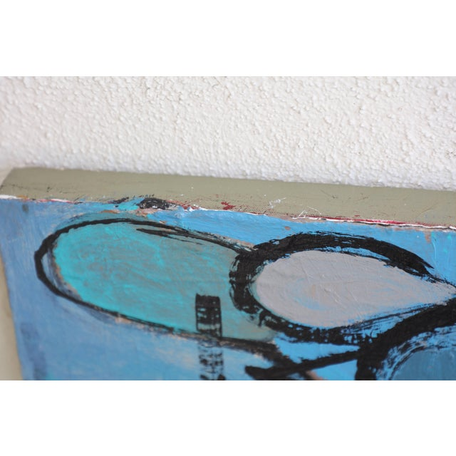 """""""Sea Moons"""" Acrylic on Canvas by Artist Kenneth Joaquin For Sale - Image 11 of 13"""