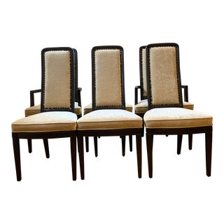 Late 20th Century Henredon Dining Chairs- Set of 6 For Sale