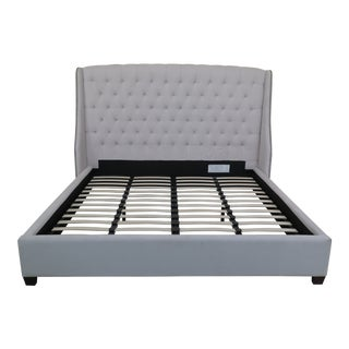 King Size Upholstered Bed For Sale