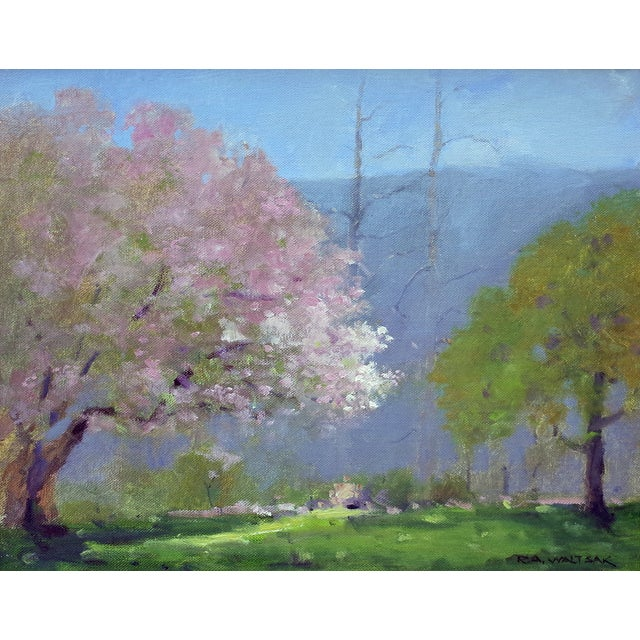 Spring Landscape Painting - Image 1 of 4