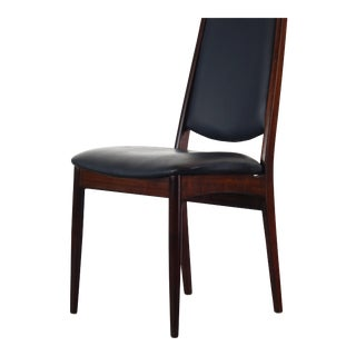 Rosewood Highback Danish Mid Century Modern Desk Chair / Side Chair For Sale
