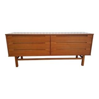 Danish Nils Jonsson Teak Long Dresser For Sale