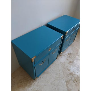 1970's Drexel Accolade Campaign Nightstands-A Pair Preview