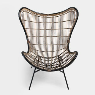 Bamboo & Black Scoop Chair Preview
