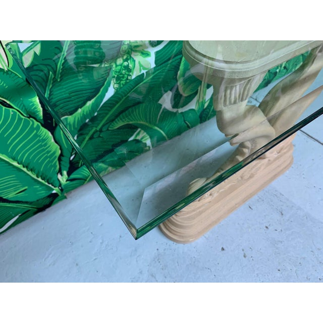 Asian Dolphin Console Table For Sale - Image 6 of 7
