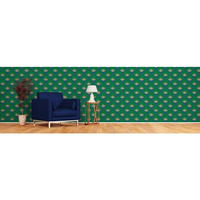 Our self-adhesive paper is easy to install and remove. By Mitchell Black Home.