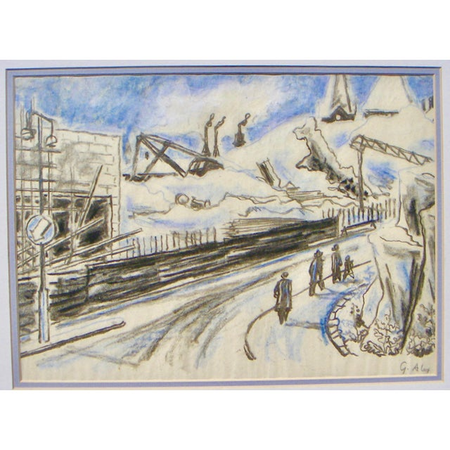 Gustav Alexanderson Swedish Industrial Drawing - Image 2 of 4