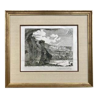 Colosseum Ruins 18th C Engraving Kilian For Sale