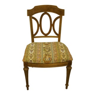 Thomasville Furniture La Scala Collection Italian Provincial Dining Chair For Sale