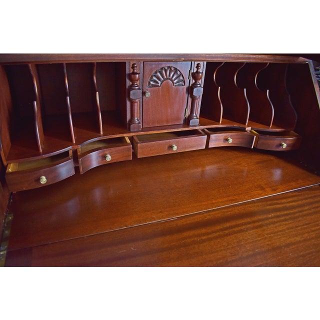 Antique Maddox Mahogany Secretary Desk - Image 7 of 11